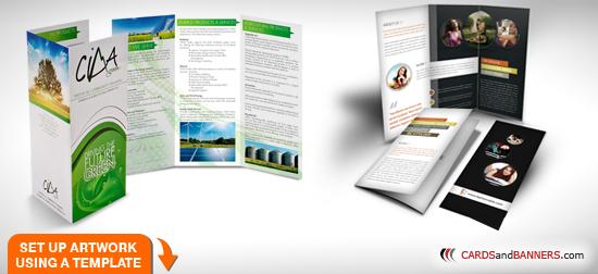 Brochures 11x17 Inch Custom Printing Free Shipping