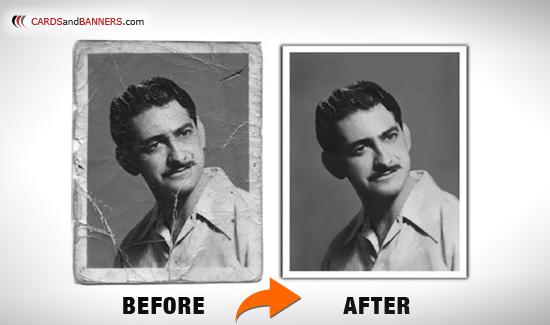 Photo Restoration Custom Printing Free Shipping