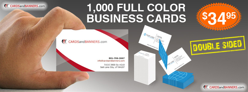 Full Color Business Cards Printing