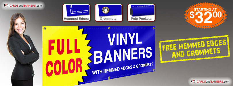 Full Color Vinyl Banners Printing